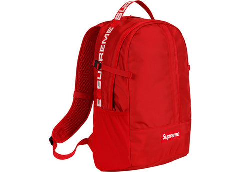 SS18 Supreme Backpack - Red