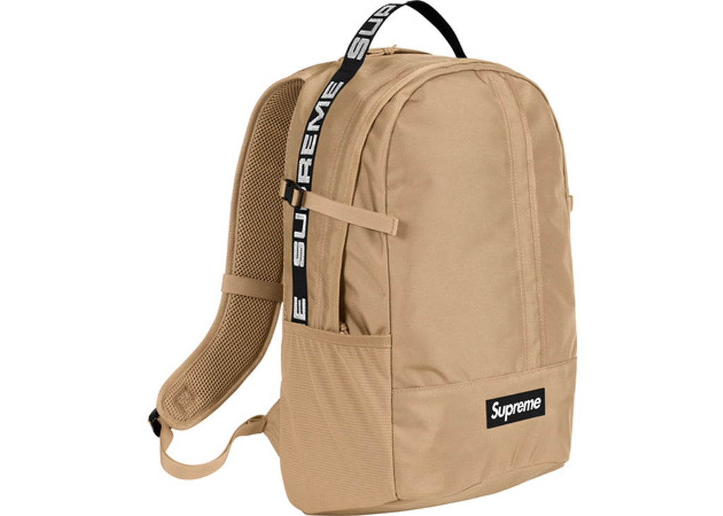 SS18 Supreme Backpack - Tan