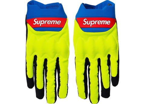 Supreme Fox Racing Bomber LT Gloves Multicolor