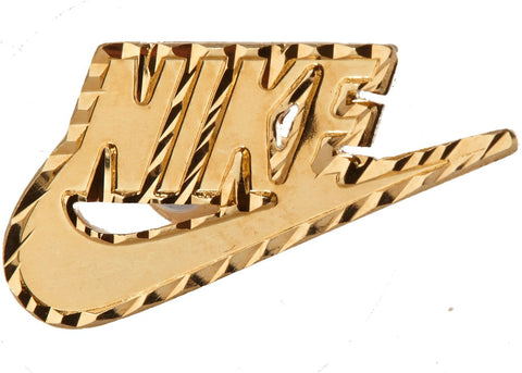 Supreme Nike 14K Gold Earring Gold