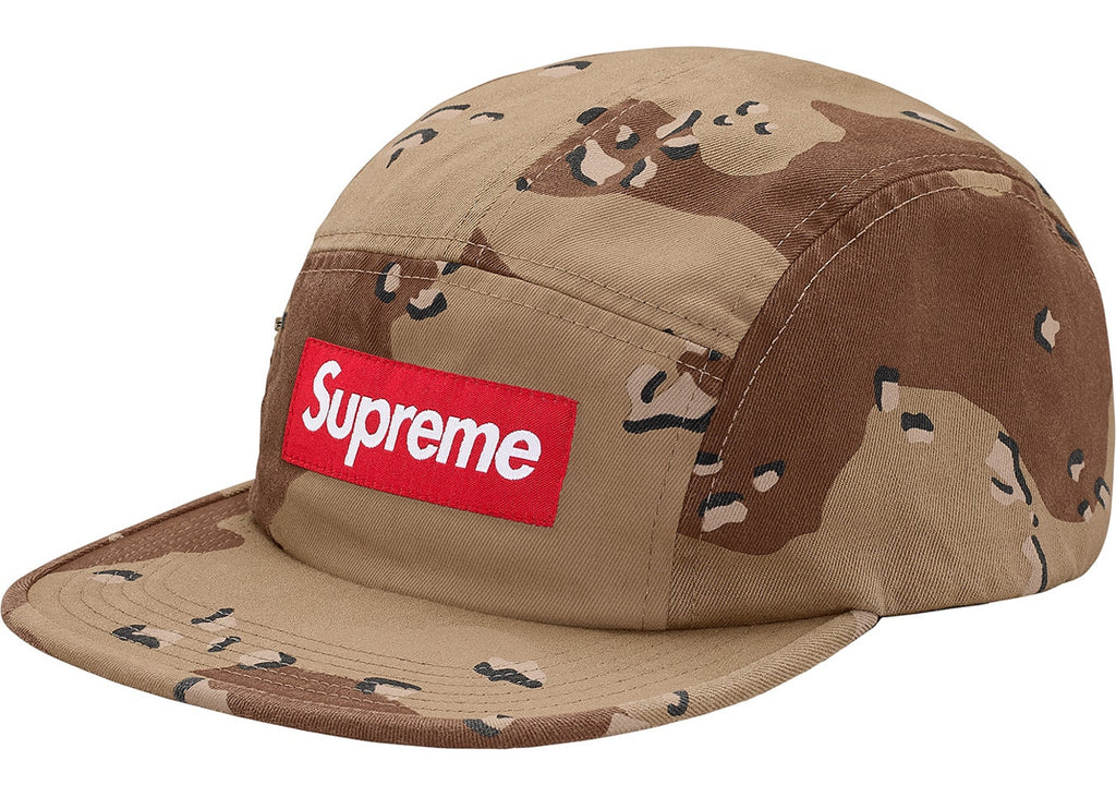 Supreme Side Zip Camp Cap Desert Camo