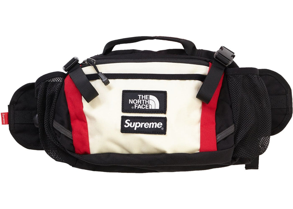 Supreme The North Face Expedition Waist Bag in White