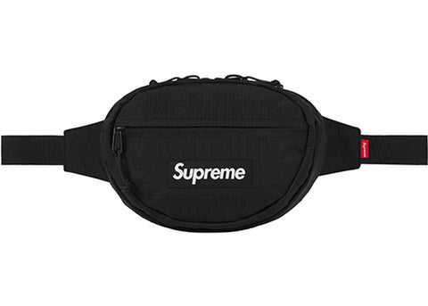 FW18 Supreme Waist Bag - Black
