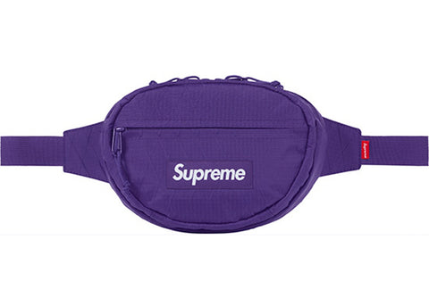 FW18 Supreme Waist Bag - Purple