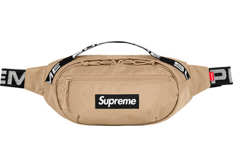 SS18 Supreme Waist Bag - Tan