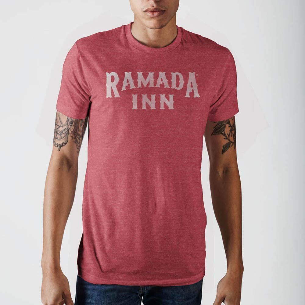 Amr Ramada Inn Red Htr T-Shirt