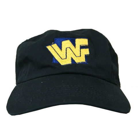 Rock Hard Vintage WWF Dad Hat In Black