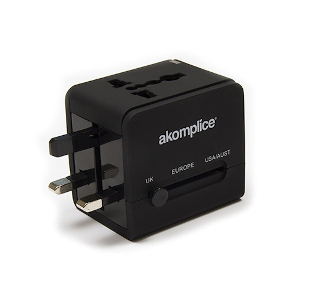 Akomplice World Power Adapter In Black