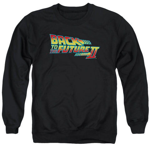 Back To The Future Ii - Logo Adult Crewneck Sweatshirt