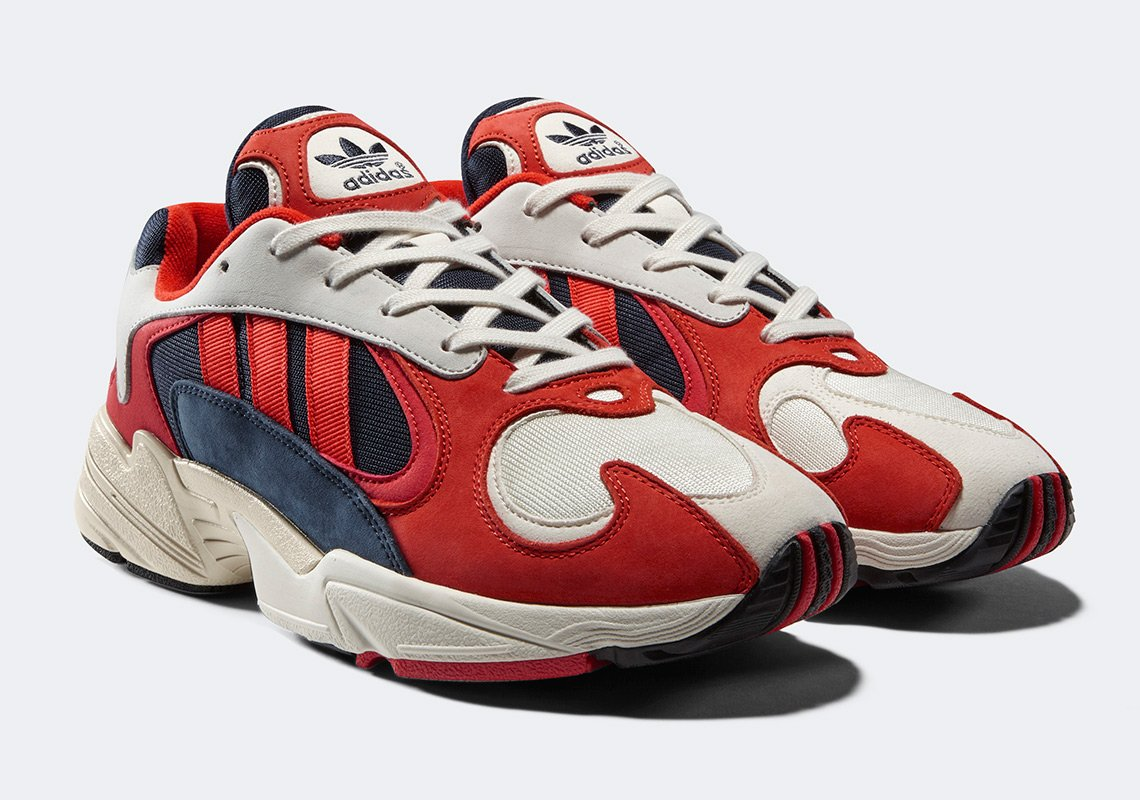 adidas Yung 1 Collegiate Navy Red