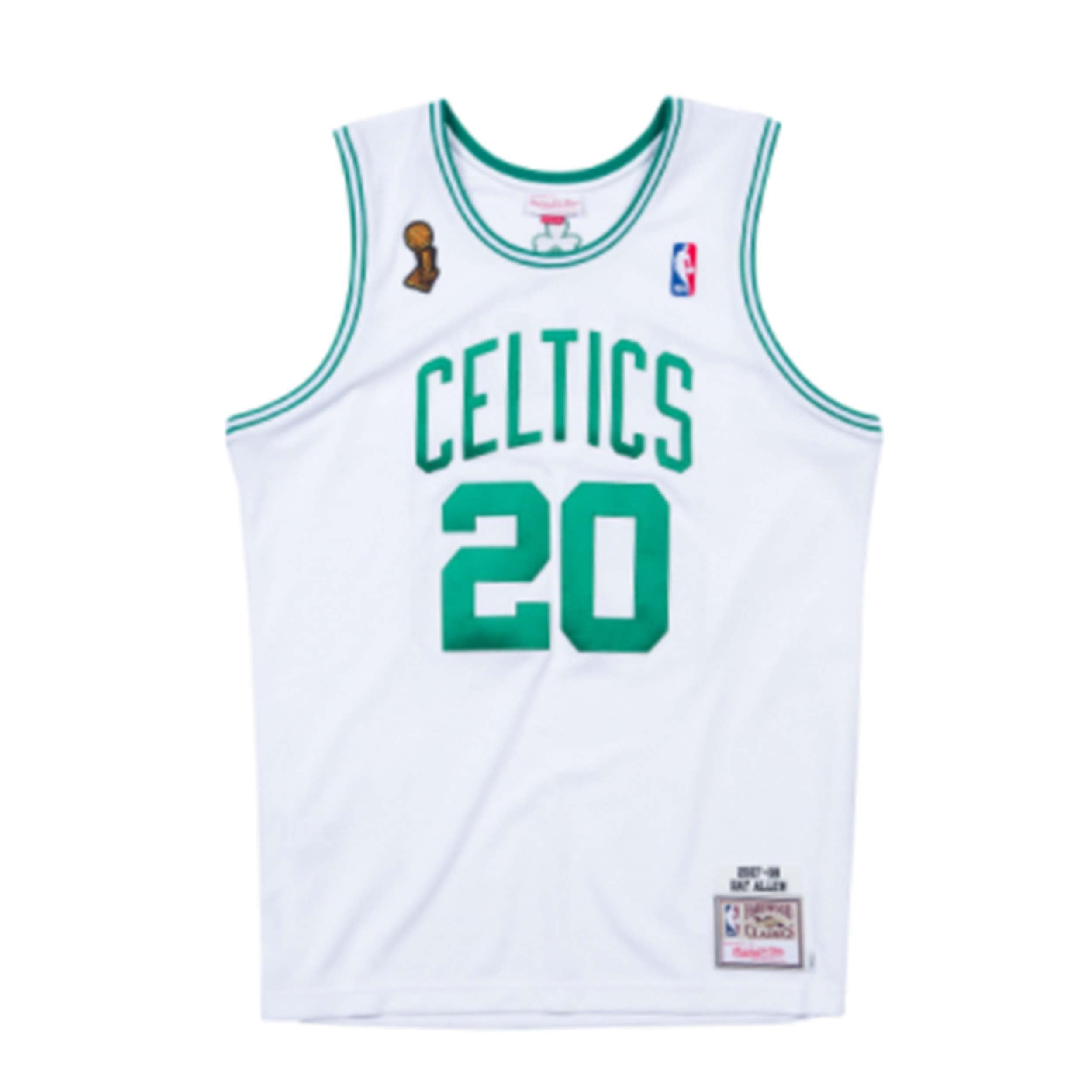official photos 7361e 9236b Mitchell & Ness Ray Allen 2007-08 Authentic Finals Jersey ...