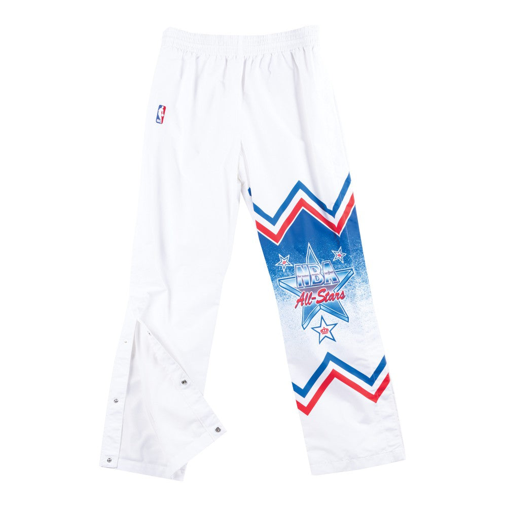 Mitchell & Ness 1991 NBA All Star East Warm Up Pants in White
