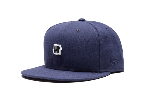 Undefeated Small 5 Strike New Era Cap In Navy