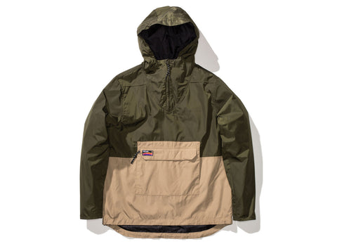 Undefeated Striker Anorak Jacket In Olive