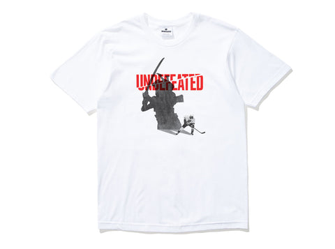 Undefeated Shadow Blades Tee In White