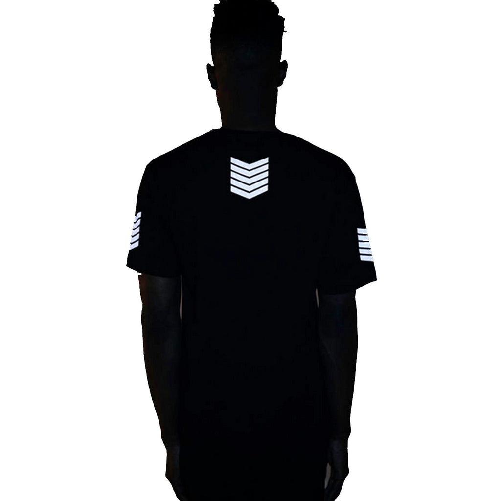 Thread Workshop Army Long Tail Extended T-shirt Black