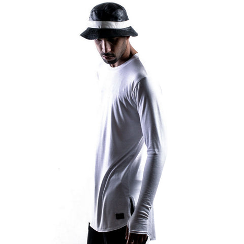 Thread Workshop Layering Ninja Extended T-shirt in White
