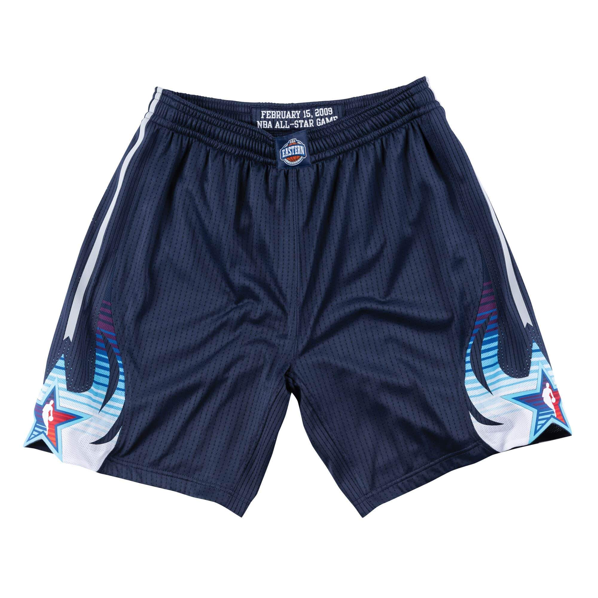 71a32be2a1b2a Mitchell & Ness 2009 NBA All Star Game East Authentic Shorts in Navy