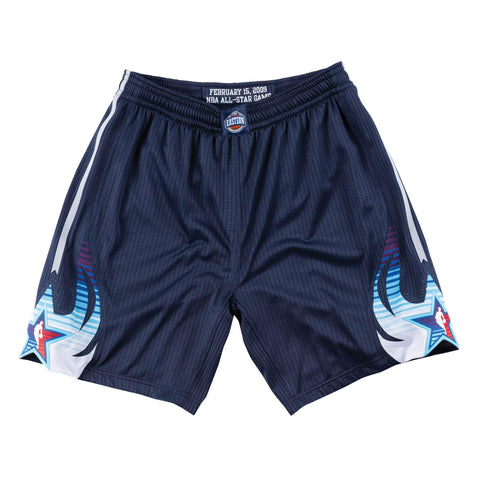 Mitchell & Ness 2009 NBA All Star Game East Authentic Shorts in Navy