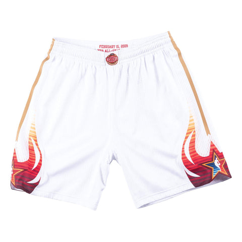 Mitchell & Ness 2009 NBA All Star Game West Authentic Shorts in White