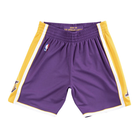 ce61d2c01d1 Mitchell   Ness Authentic Shorts Los Angeles Lakers Road 2008-09