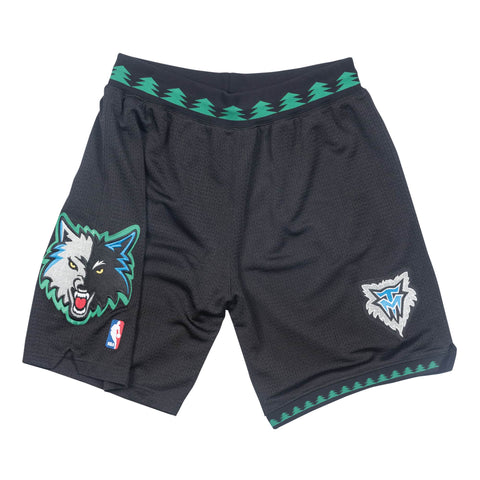 Mitchell & Ness Minnesota Timberwolves 2003-04 Alternate Authentic Shorts