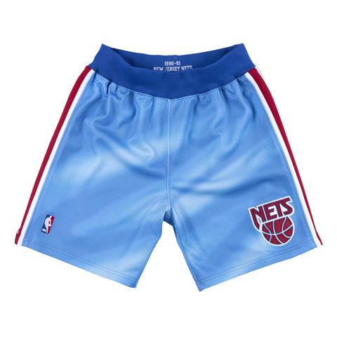 PREORDER Limited Mitchell & Ness New Jersey Nets 1990-91 Authentic Shorts