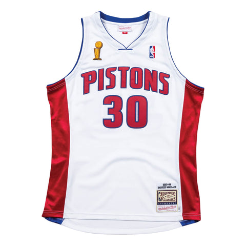 e9120ff48291 Mitchell   Ness Authentic Jersey Detroit Pistons Home Finals 2003-04  Rasheed Wallace