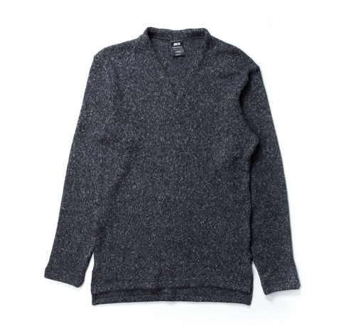 Publish Barlow Knitted Sweater In Charcoal