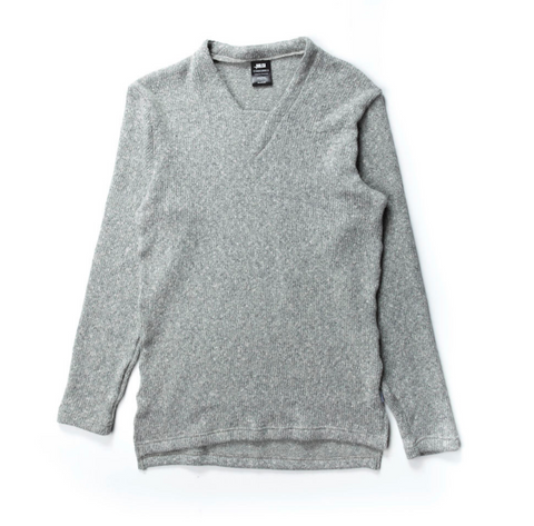 Publish Barlow Knitted Sweater In Heather