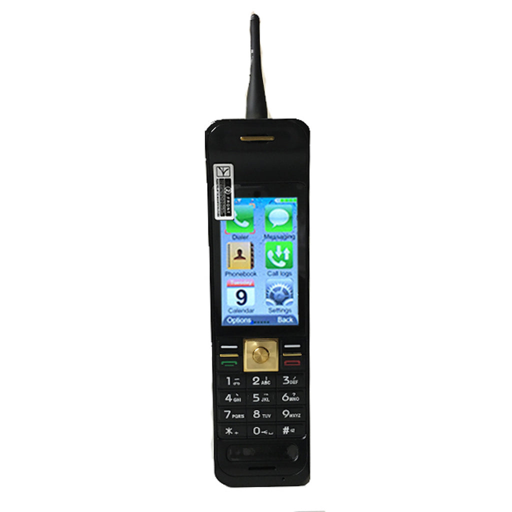 Jeffersons Vampline Touch Screen GSM Dual SIMs Original OG Brick Phone In Black