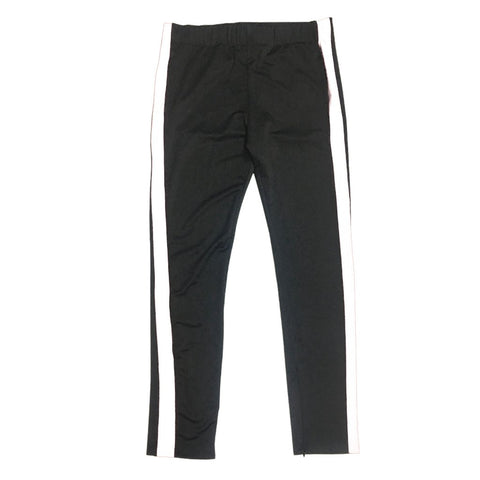 By Kiy Track Pants in Black / White