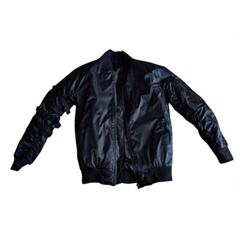 Black Kayak Bomber Jacket
