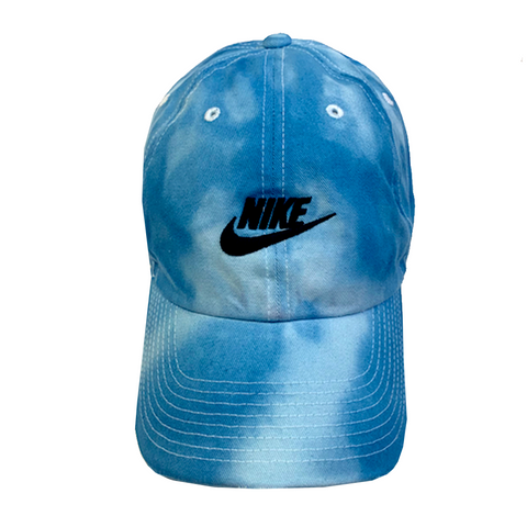"Nike ""OCEAN BLUE"" Custom Tonal Washed Dad Cap"