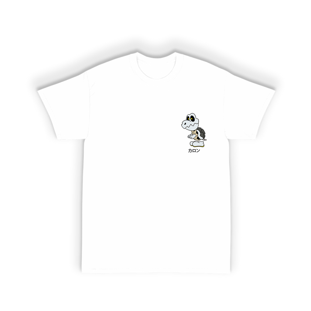 Bones Tee Shirt in White