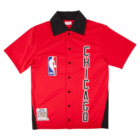 Mitchell & Ness 1984-85 Authentic Shooting Shirt Chicago Bulls In Red