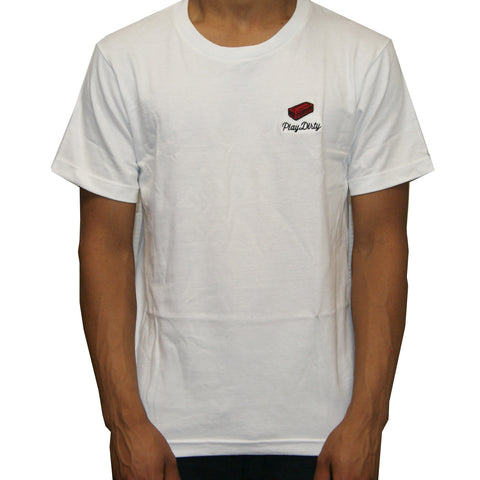 Undefeated Brick Tee In White