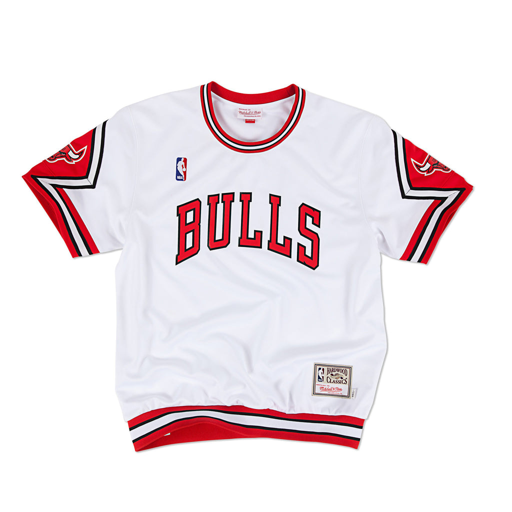 Chicago Bulls Authentic Shooting Shirt in White