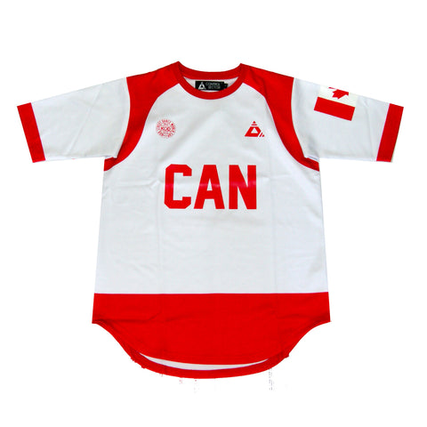 Control Sector Canada Jersey In White