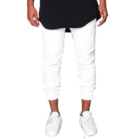 Golden Denim Golden Marathon Pants In White