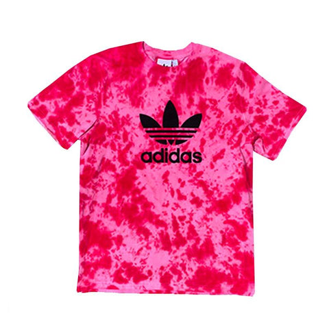 "Adidas x Jeffersons Custom Tonal Tie Dyed T-Shirt ""CARMINE RED"""