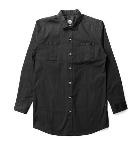 Publish Cason Button Up In Black