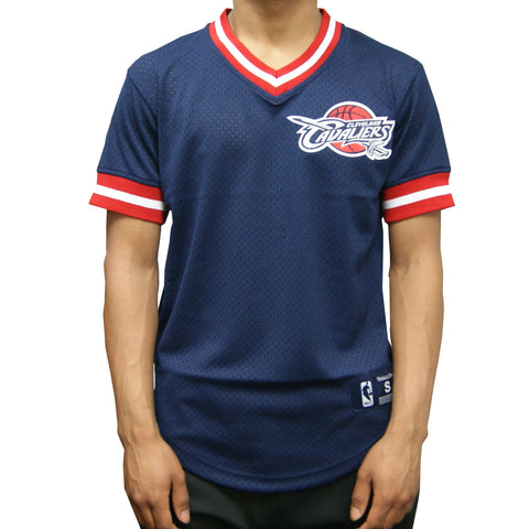 Mitchell & Ness Cleveland Cavaliers Pullover Jersey In Navy