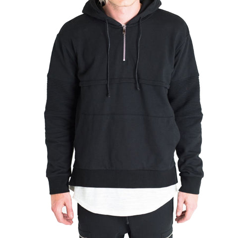 Crysp Champ Hoodie In Black
