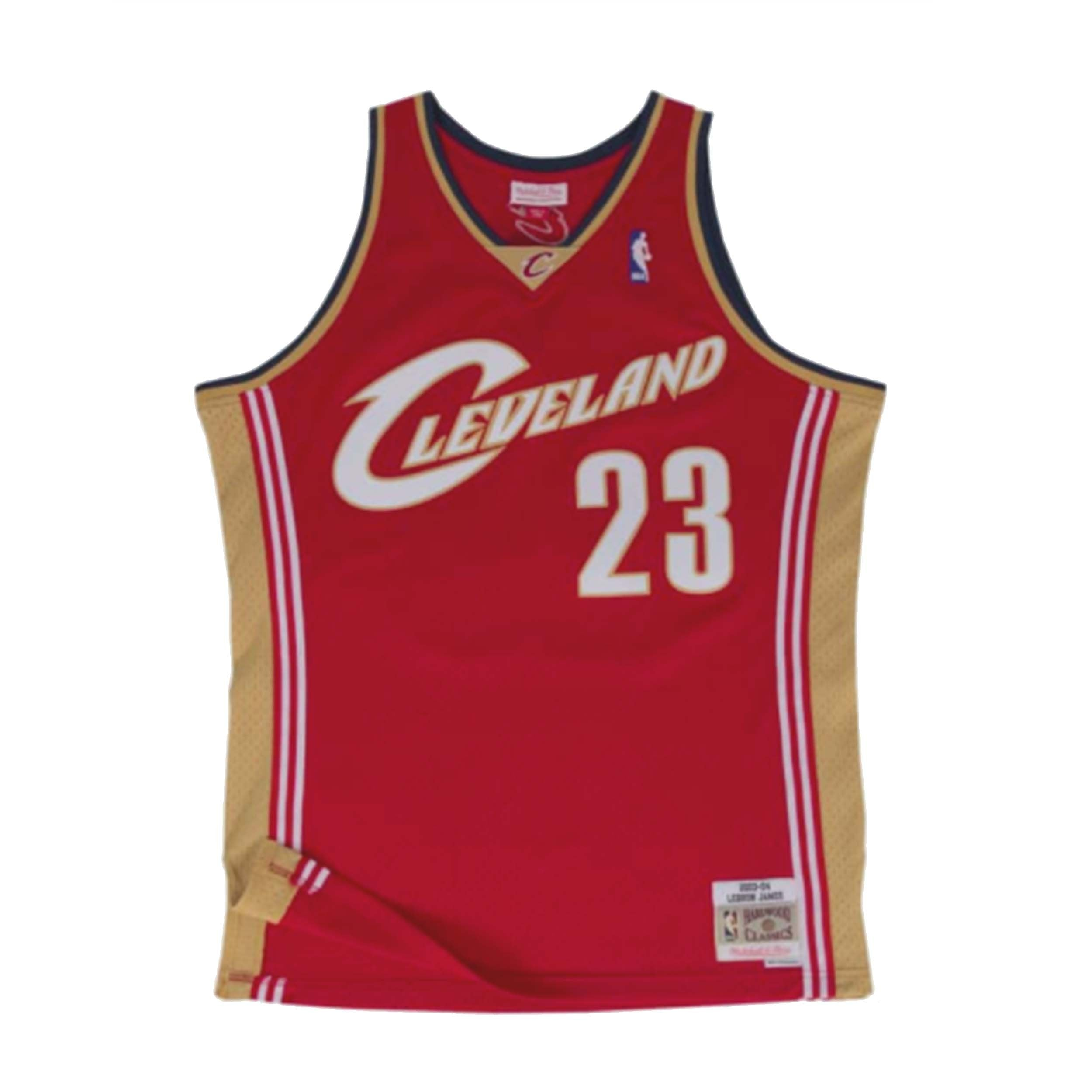 competitive price c28fd 424f1 Mitchell & Ness LeBron James Swingman Jersey Cleveland Cavaliers Maroon