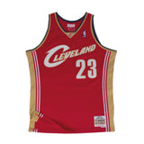 competitive price b517b 9070e Mitchell & Ness LeBron James Swingman Jersey Cleveland Cavaliers Maroon
