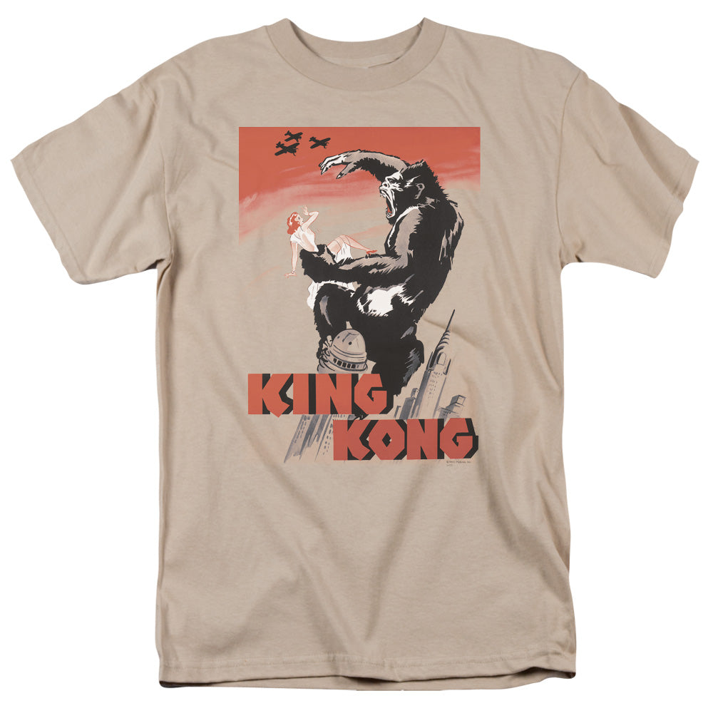 King Kong - Red Skies Of Doom Short Sleeve Adult 18/1