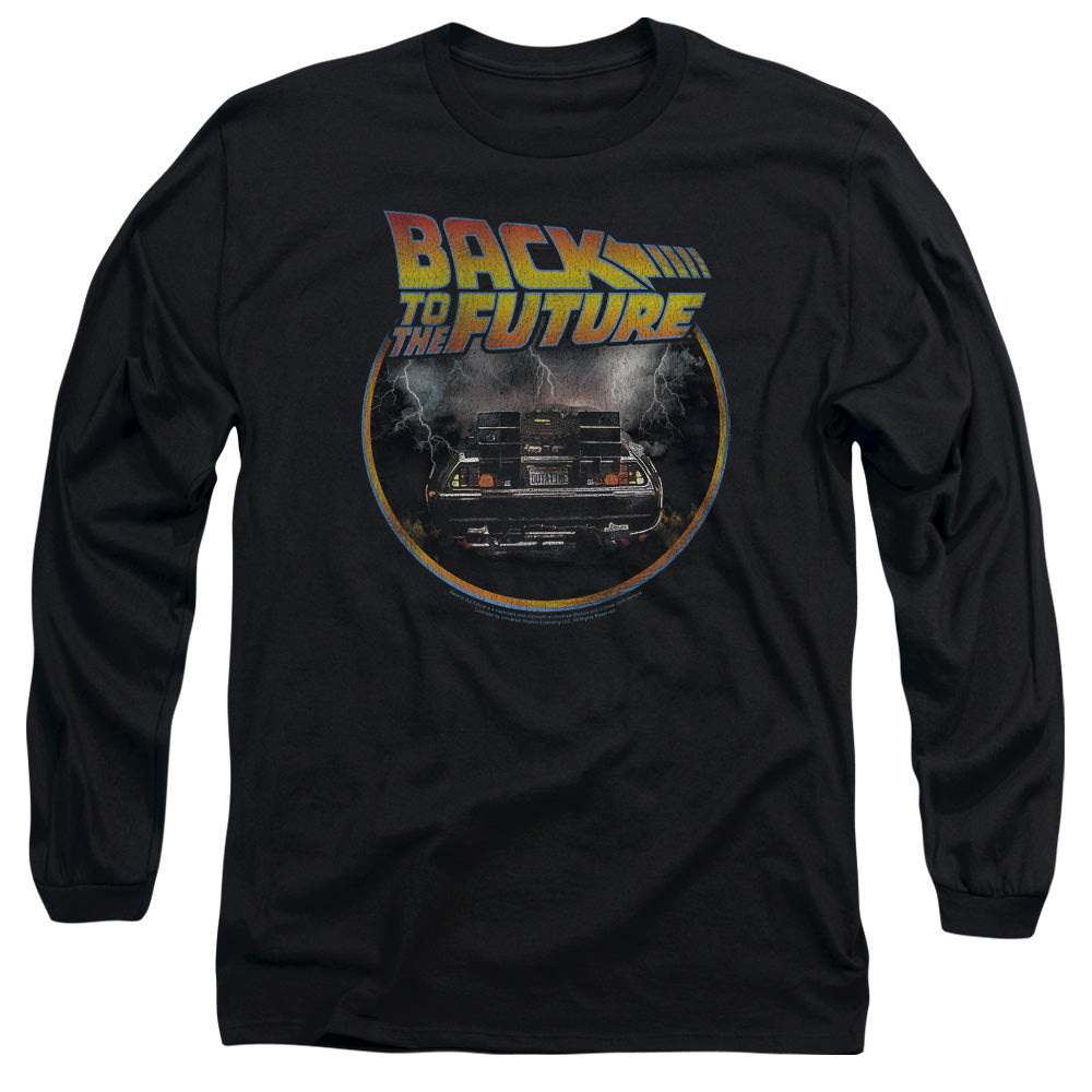 Back To The Future - Back Long Sleeve Adult 18/1