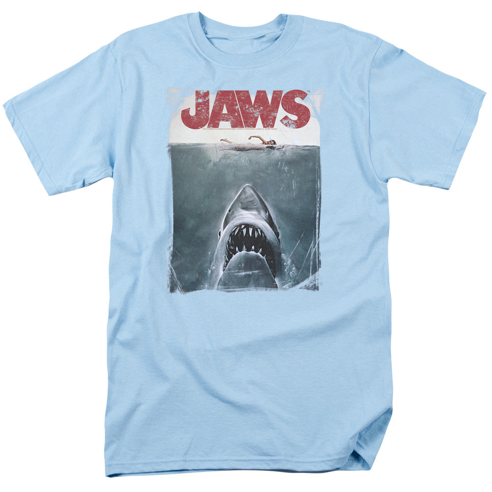 Jaws - Title Short Sleeve Adult 18/1