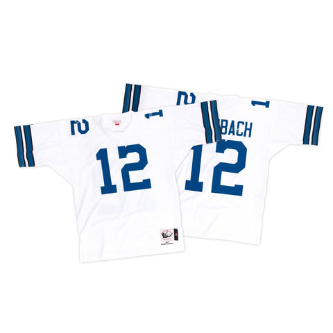 Mitchell & Ness Roger Staubach 1977 Authentic Jersey Dallas Cowboys